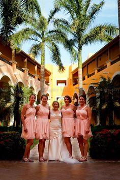 Destination wedding. Riviera Maya, Mexico.  Ocean Coral & Turquesa resort. Melanie Sioux Photography 2013.