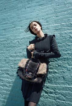 Bergdorf Goodman - Cedric Buchet - Mariacarla Boscono - 2010FW - magazine fall -  fashion ads