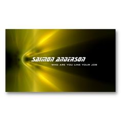 Yellow modern grungy business card business cards pinterest motion business card abstract modern black with yellow speed light colourmoves