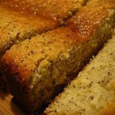 Lemon Poppy Seed Loaf - Allrecipes.com