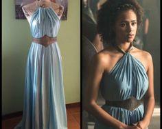 Game of Thrones Costume Daenerys Qarth Dress by FleurDeLysCouture