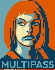 Leelu Dallas multipass!    Hah!