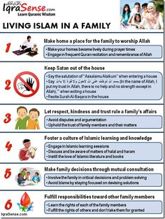 living Islam in a family. I wish I was raised with more religious values. I want to teach my children about the beauty of Islam and religion itself.