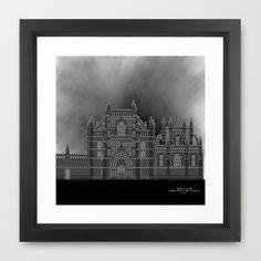 HexArchi - Portugal, Batalha, Mosteiro de Santa Maria da Vitória . Igreja e Capela do Fundador Framed Art Print