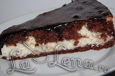 Pasca cu ciocolata Romanian Food, Romanian Recipes, Pastry Cake, Food Cakes, Tiramisu, Cake Recipes, Cheesecake, Goodies, Cooking Recipes