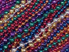 Craft Ideas for Mardi Gras Beads