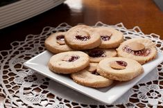 le pavillon hotel in new orleans - peanut butter and jelly cookies