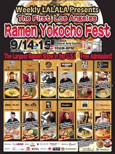 Ramen Yokocho Fest is coming to Torrance!