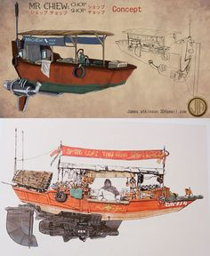 Mr. Kim's Boat from The FifthElement - mrkim - Prop Replicas, Custom Fabrication, SPECIAL EFFECTS