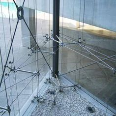 Curtain Wall Detail, Glass Curtain Wall, Glass Structure, Steel Structure, Spider Glass, Glass Wall Design, Glass Fit, Glass Partition, Glass Facades