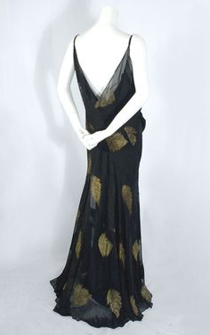 1930s clothing at Vintage Textile   2493 bias cut dress Bias Cut Dress d228e02ee