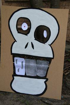 Nerf Party - skull face