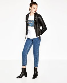 Image 1 of OVERSIZED SEQUINNED T-SHIRT from Zara