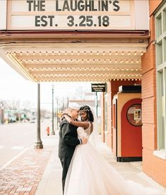 Shanice+Spencer WOW Event Space Alton Wildley Theater Edwardsville Photo by Veronica Young St Louis Mo, Wedding Officiant, Veronica, Real Weddings, Wedding Ceremony, Theater, Wedding Photography, Space, Wedding Dresses