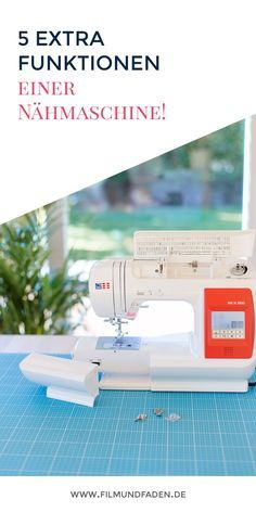 5 Extra Funktionen, die eine Nähmaschine haben sollte Juki, Sewing, Tips, Fashion Hacks, Gadgets, Inspiration, Jeans, Home Decor, Knitting Patterns