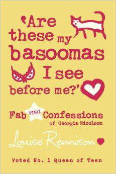 "Louise Rennison - ""Are these my Basoomas I see before me?"""