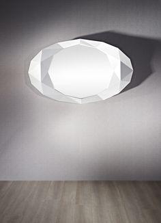 Deknudt Mirrors Decora 2693.171 Precious White Mirror