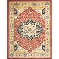 Heriz Red/ Cream Rug | Overstock.com Shopping - The Best Deals on 7x9 - 10x14 Rugs