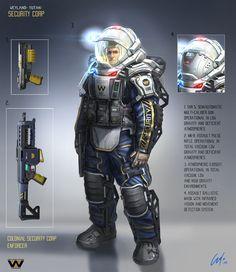 WY Security Corp Enforcer by ARTOFJUSTAMAN.deviantart.com on @deviantART