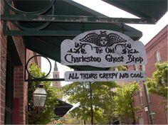 The Charleston Ghost Shop - in case you need some spooky stuff.