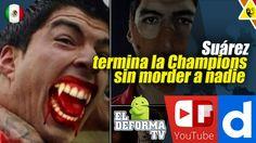 Suárez termina la Champions sin morder a nadie