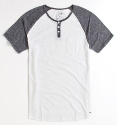 On The Byas Adam Raglan Henley Shirt - PacSun.com http://shop.pacsun.com/Mens/v--neck/On-The-Byas-Adam-Raglan-Henley-Shirt/index.pro#