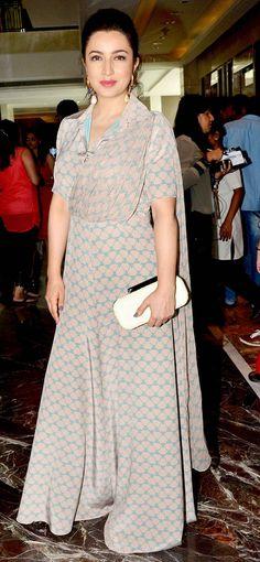 Tisca Chopra on Day 5 at the Lakme Fashion Week Winter/Festive 2014. #Bollywood #Fashion #Style #Beauty