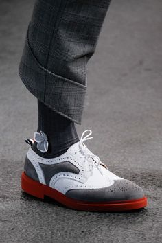 Thom Browne | Spring 2015 Menswear Collection | This mans madness is alluring, love those shoes. | Raddest Looks On The Internet: http://www.raddestlooks.net
