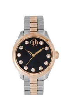 Rose Gold & Stainless Steel Project D London Watch