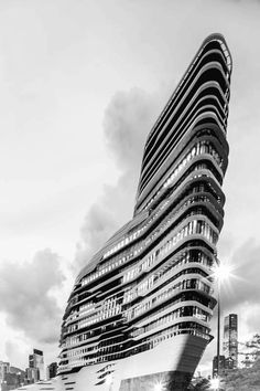 Innovation Tower by Zaha Hadid, Polytechnic University, Hong Kong