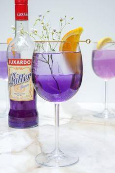 A bitter spritz, but blue.