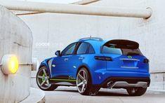 Promiz PFX by GoodieDesign.deviantart.com on @deviantART Infiniti Fx35, Nissan Infiniti, Cool Trucks, Cool Cars, Suv Cars, Custom Paint Jobs, Luxury Suv, Garage Design, Car Tuning