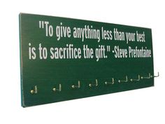 inspirational running quotes : Running Medals display Rack on Etsy, $28.99