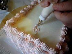Decorazioni Torte Cinesi : Fantastiche immagini su torte decorate con panna montata nel