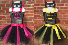 Batman Costume Batman Tutu Dress Batman Tutu by ChachaTutu