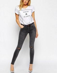 Tendencias PV 2015 Jeans tiro alto: fotos de los modelos