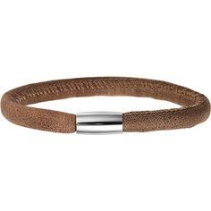 endless Damen Armband Edelstahl Leder 12105 - http://schmuckhaus.online/endless-3/endless-damen-armband-edelstahl-leder-12105