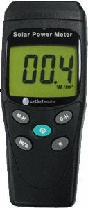 Amazon.com: Ambient Weather TM-206 Solar Power Meter (Pyranometer): Home & Kitchen