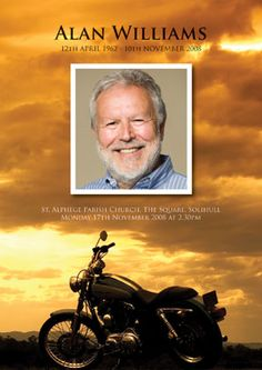 Fitting Farewell has Moved Funeral Order Of Service, Funeral Ideas, Motorbike Design, Memorial Cards, Design Show, Imagination, Celebration, Dads, Stationery