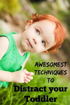 Easy Peasy Ways to Distract Your Toddler. Great advice for moms with tots!