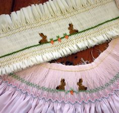 "Creations By Michie` Blog: Free ""Baby Bunnies"" Smocking Design"