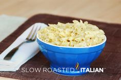 Mac and Cheese Italian Style