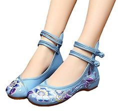 Easy On and Off, Non-Skid Sole. Perfect for costume, dance and daily casual. Comfy Shoes, Cute Shoes, Me Too Shoes, Asian Shoes, Shoe Crafts, Wedding Shoes Heels, How To Make Shoes, Mary Jane Shoes, Dream Shoes