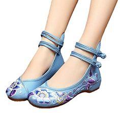 AvaCostume Womens Embroidery Ankle Belt Flats Dancing Mar... https://www.amazon.com/dp/B01FU3UTW0/ref=cm_sw_r_pi_dp_x_eaqXxb8J802VD