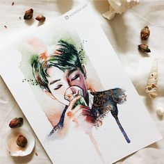 Bts rapmonster fan art