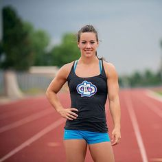 """You'd never guess that CrossFit Fittest Woman on Earth Camille Leblanc-Bazinet used to struggle with body image. """"I only want to be fitter, stronger, faster, and healthier, and that's given me tons of confidence,"""" she says. @POPSUGARFitness"""