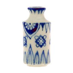 Dolls House Blue Delft Jar Vase Miniature Living Room 1:12 Ornament Accessory