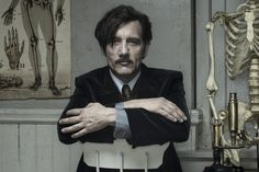 TV's most gruesome—and beautiful—medical drama, 'The Knick,' returns Friday. The star talks about his role as a drug-addicted genius surgeon...and that mustache.
