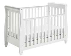 Shop for Babymore Eva Sleigh Cot Bed Dropside With Drawer (white Finish) + Foam Mattress. Starting from Choose from the 2 best options & compare live & historic baby product prices.