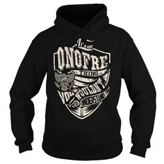 Its an ONOFRE Thing (Eagle) - Last Name, Surname T-Shirt